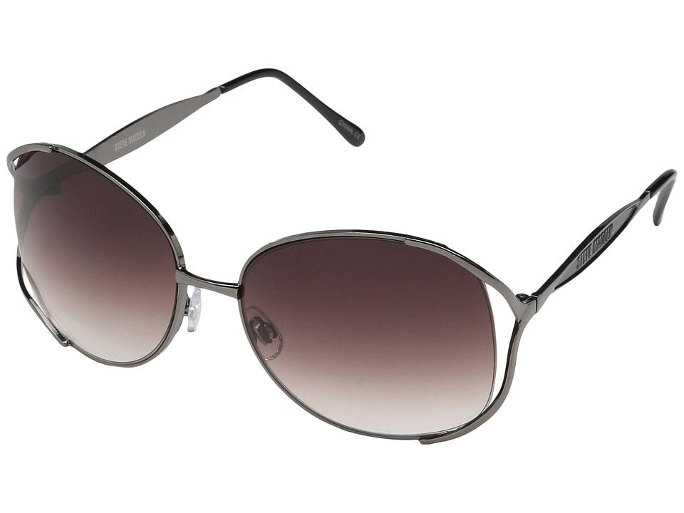 Steve Madden - S5610 (Gunmetal) Fashion Sunglasses