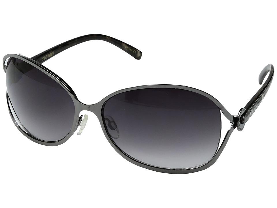 Steve Madden - S5305 (Gunmetal) Fashion Sunglasses