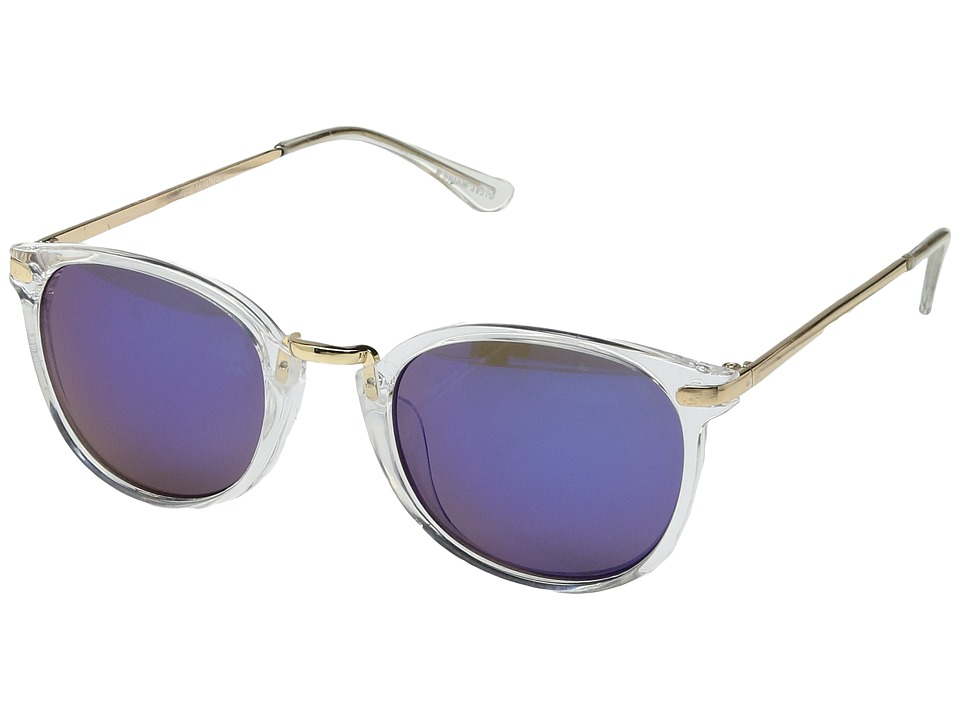 Steve Madden - SM875102 (Clear) Fashion Sunglasses