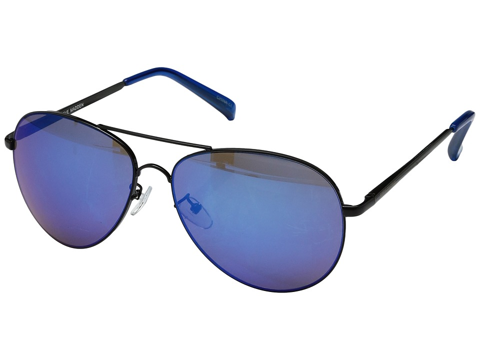 Steve Madden - SM472106 (Black/Blue) Fashion Sunglasses