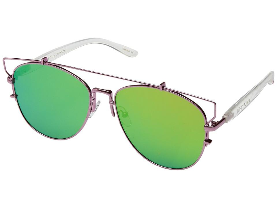 Betsey Johnson - BJ472106 (Pink) Fashion Sunglasses