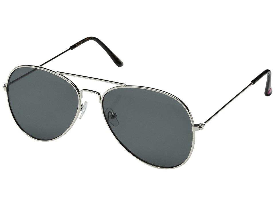 Betsey Johnson - BJ472107 (Silver) Fashion Sunglasses