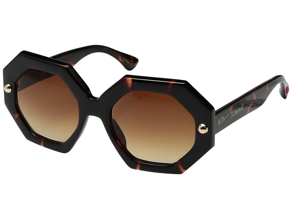 Betsey Johnson - BJ863118 (Tortoise) Fashion Sunglasses
