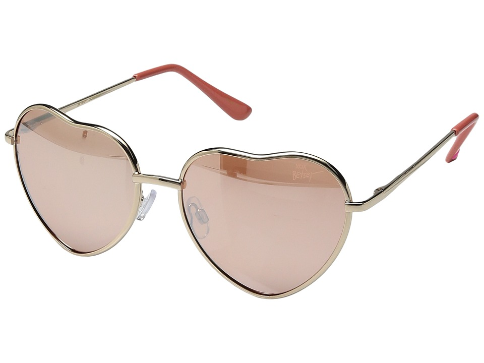 Betsey Johnson - BJ475182 (Rose Gold) Fashion Sunglasses