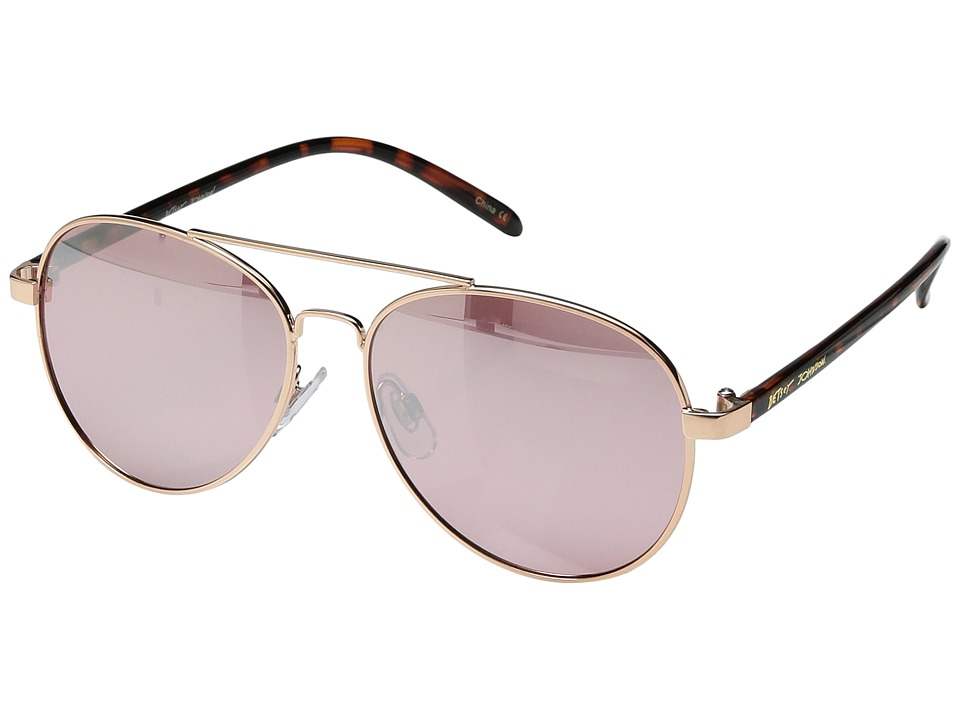 Betsey Johnson - BJ472119 (Rose Gold) Fashion Sunglasses