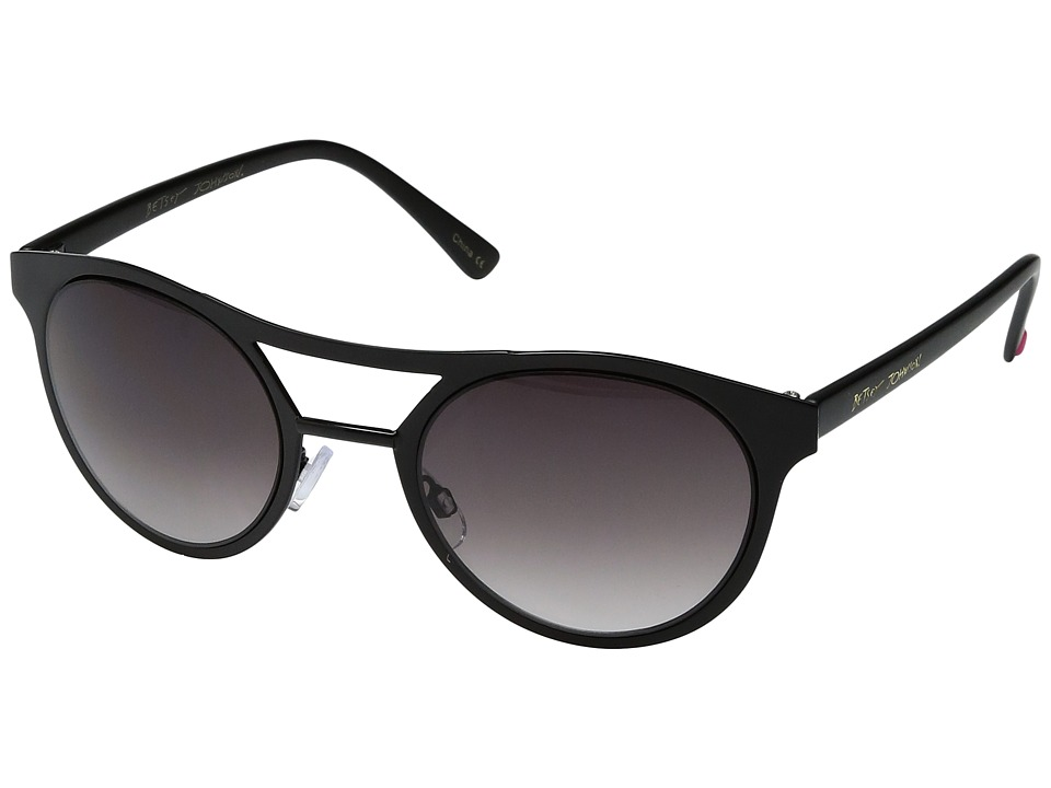 Betsey Johnson - BJ465137 (Black) Fashion Sunglasses