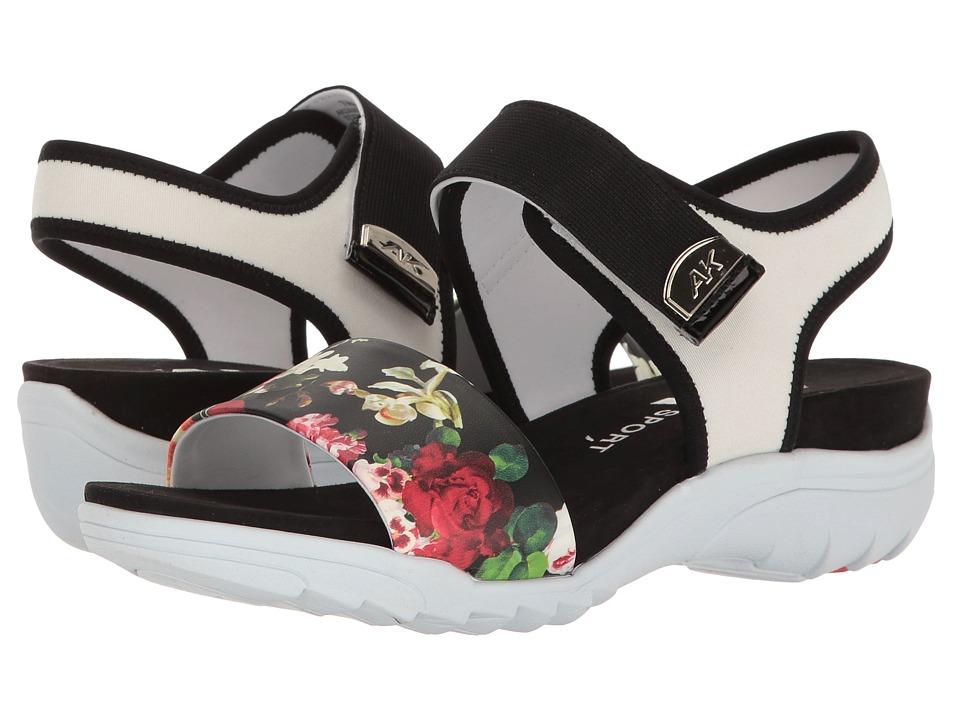 Anne Klein - Grassland (White Multi Fiji Floral Fabric) Women's Shoes