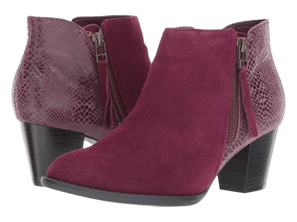 VIONIC - Anne (Merlot Snake) Women's Shoes