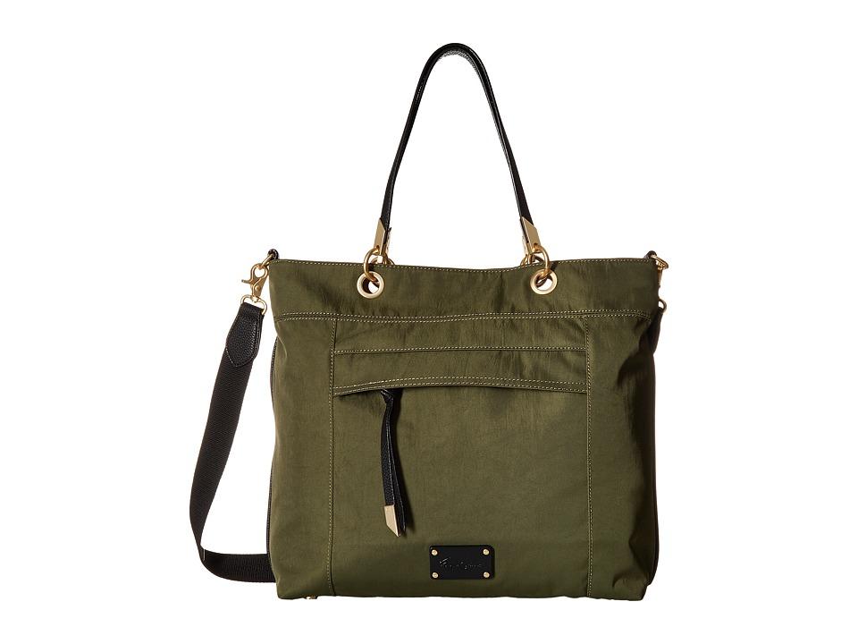 Foley & Corinna - Fusion Nylon Tote (Desert Green) Tote Handbags