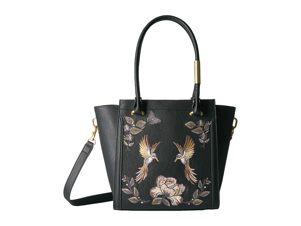 Foley & Corinna - Ma Cherie Taylor Embroidery Tote (Black) Tote Handbags