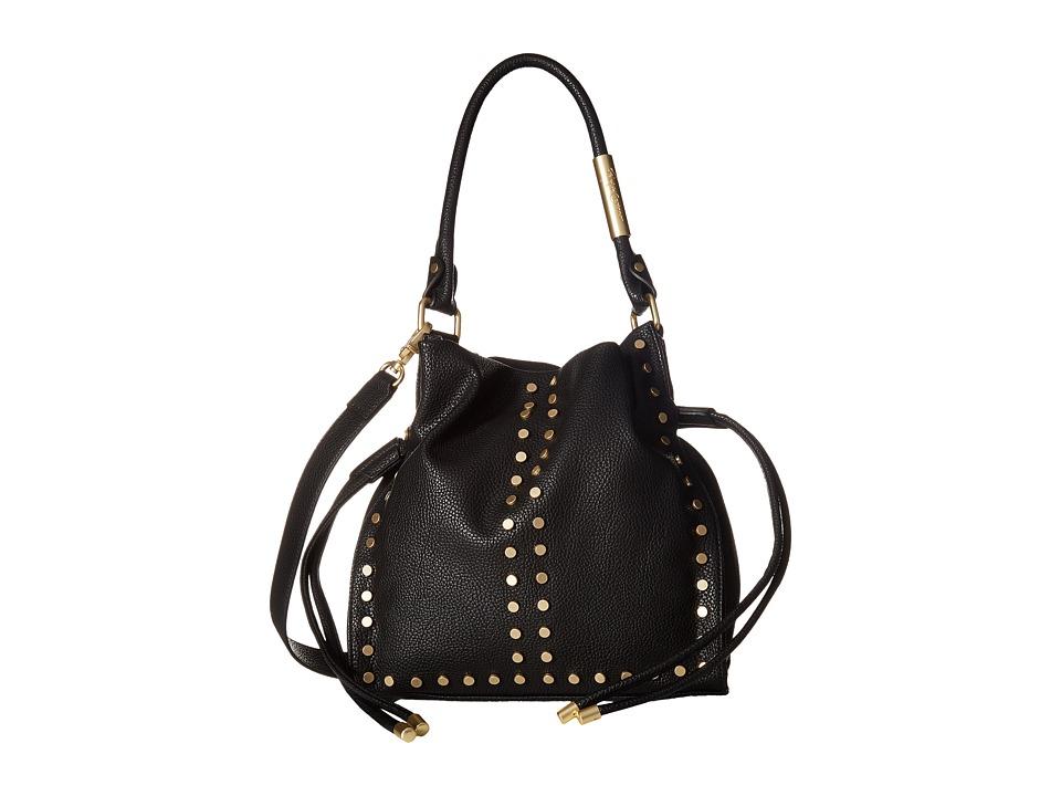 Foley & Corinna - Riley Drawstring (Black) Handbags