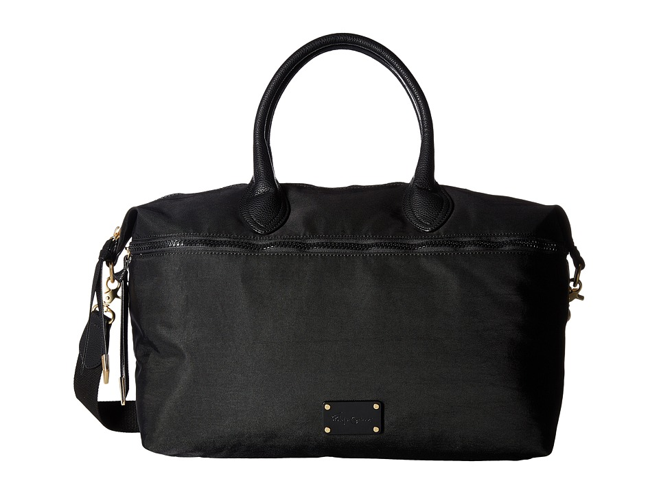 Foley & Corinna - Fusion Nylon Weekender (Black) Weekender/Overnight Luggage