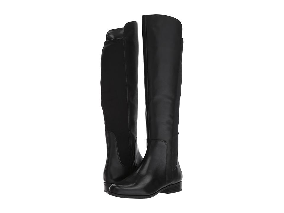 Bandolino Chieri (Black Santiago Leather/Lycra) Women