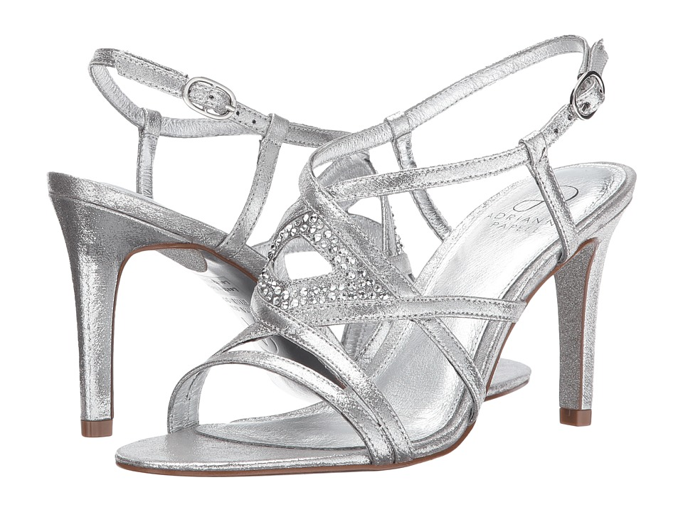 Image of Adrianna Papell - Ace (Silver Sterling Metallic) Women's Shoes