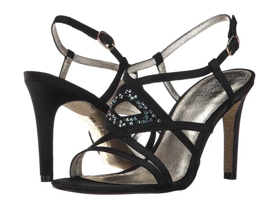Adrianna Papell - Ace (Black Satin) Women's Shoes