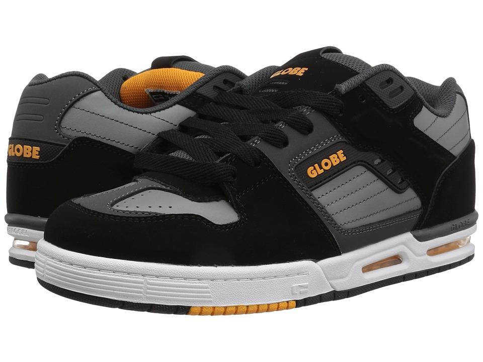 Sale Men Globe Tilt Grey Orange Sneakers Rwsn PFb U