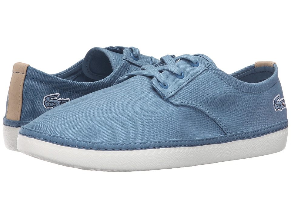 Lacoste - Malahini Deck 316 1 (Blue) Men's Shoes