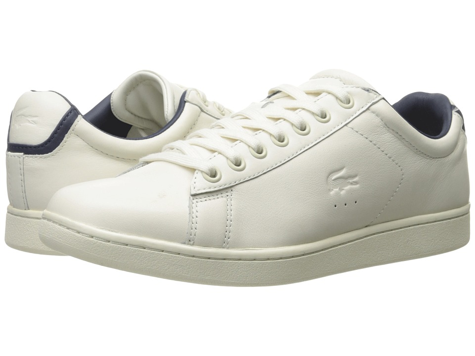 Lacoste - Carnaby EVO 316 1 (Off-White) Men's Shoes