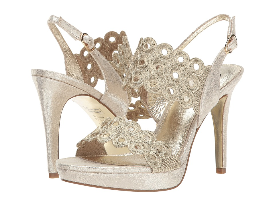Adrianna Papell Adia (Gold Gaudi Embroidery) Women