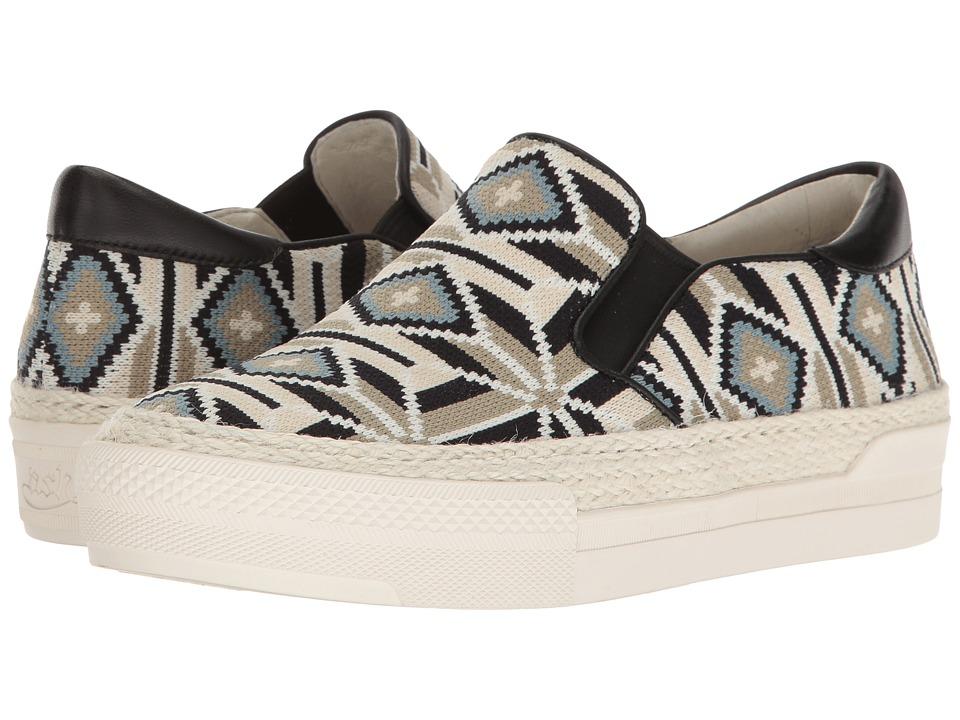 ASH - Cartagena (Off-White/Blue) Women's Shoes