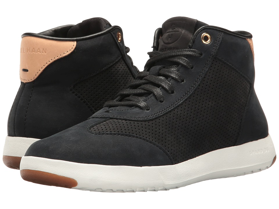 Cole Haan - Grandpro Hi (Black Nubuck) Women's Shoes