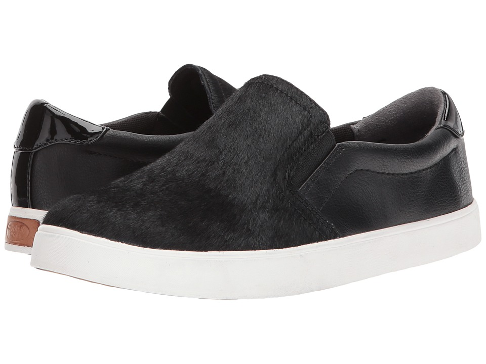 Dr. Scholl's - Madison (Black Pony Hair/Smooth) Women's Shoes