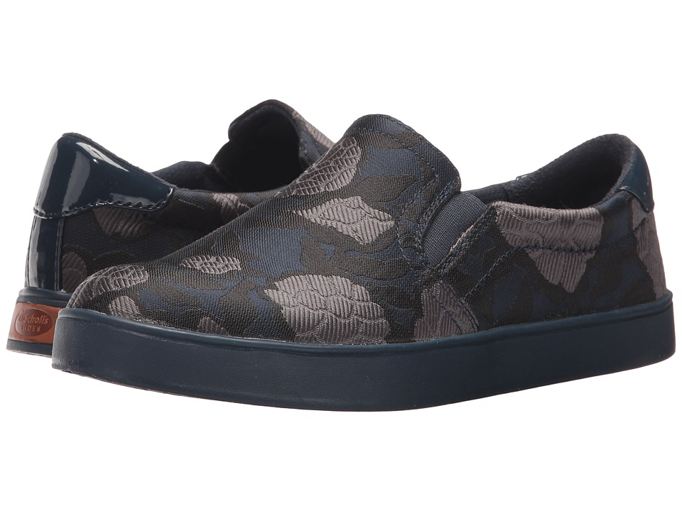 Dr. Scholl's - Madison (Navy Floral Jacquard Fabric) Women's Shoes