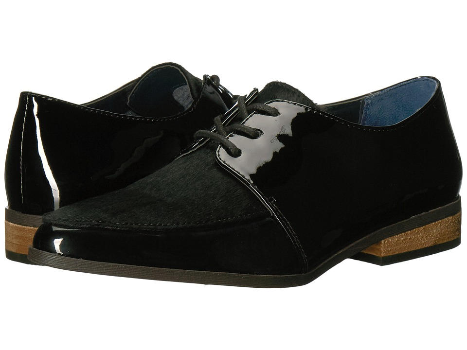 Dr. Scholl's - Equal (Black Patent/Black Pony Hair) Women's Shoes