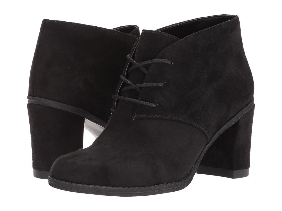 Dr. Scholl's - Later (Black Microfiber) Women's Shoes