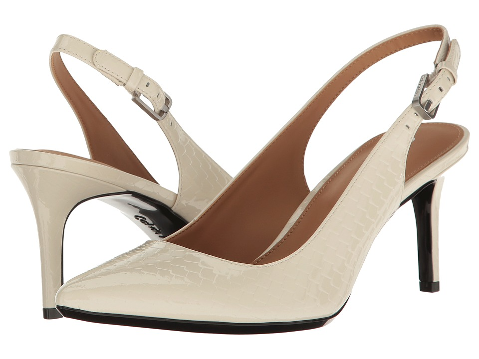 Calvin Klein - Giovanna (Soft White) Women's Shoes