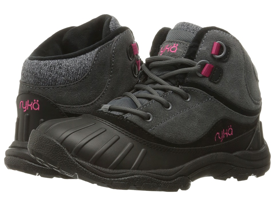 Ryka Mallory (Iron Grey/Black/Ryka Pink) Women