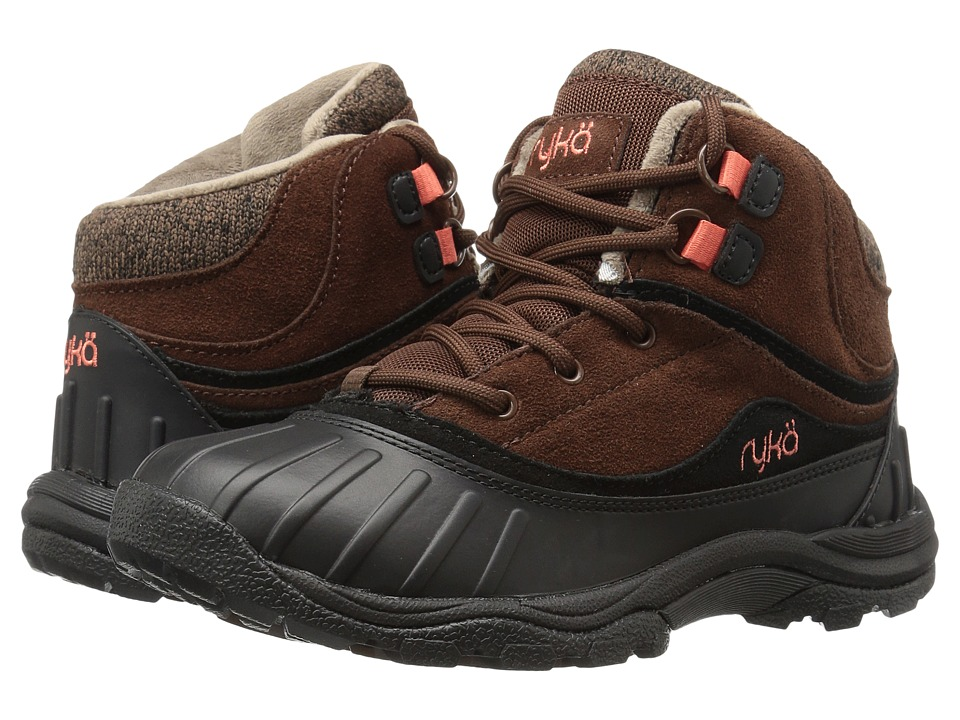 Ryka - Mallory (Potting Soil/Black/Fusion Coral) Women's Shoes