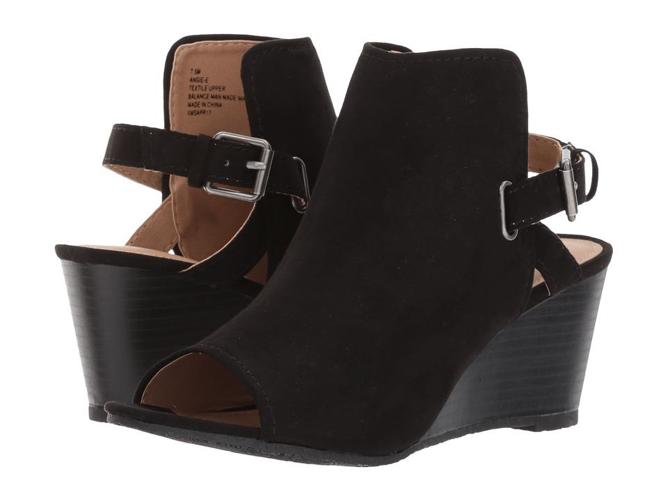 Esprit - Angie-E (Black Suede) Women's Shoes