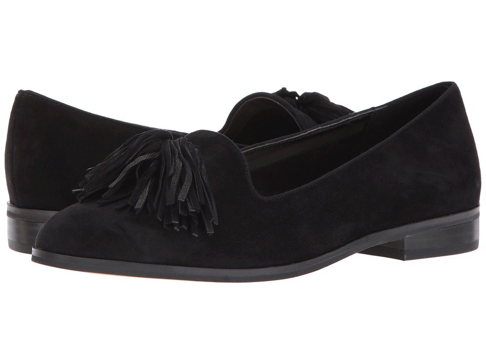 Anne Klein Devina (Black Suede) Women
