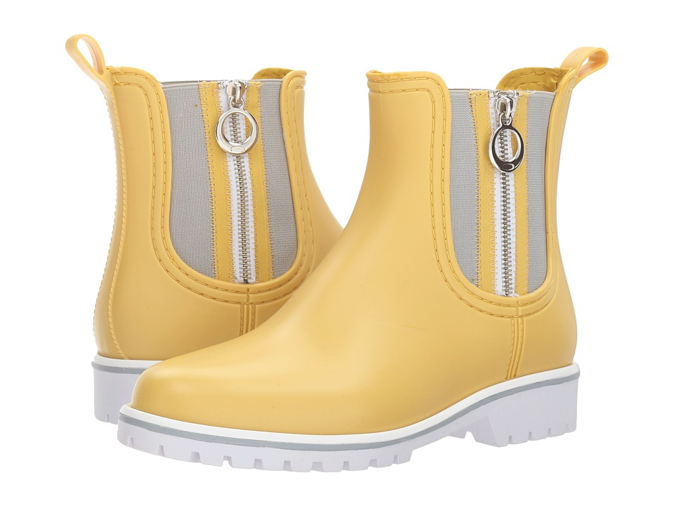 Bernardo Zip Rain (Yellow) Women