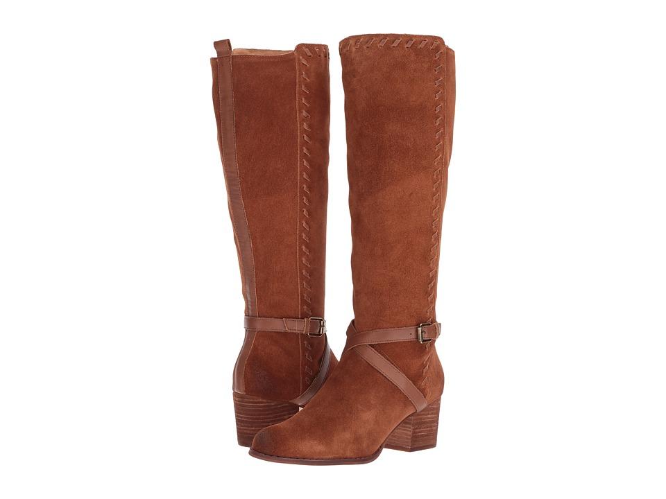 CC Corso Como Hoffman (Cognac Split Suede/Cognac Burnish Leather) Women