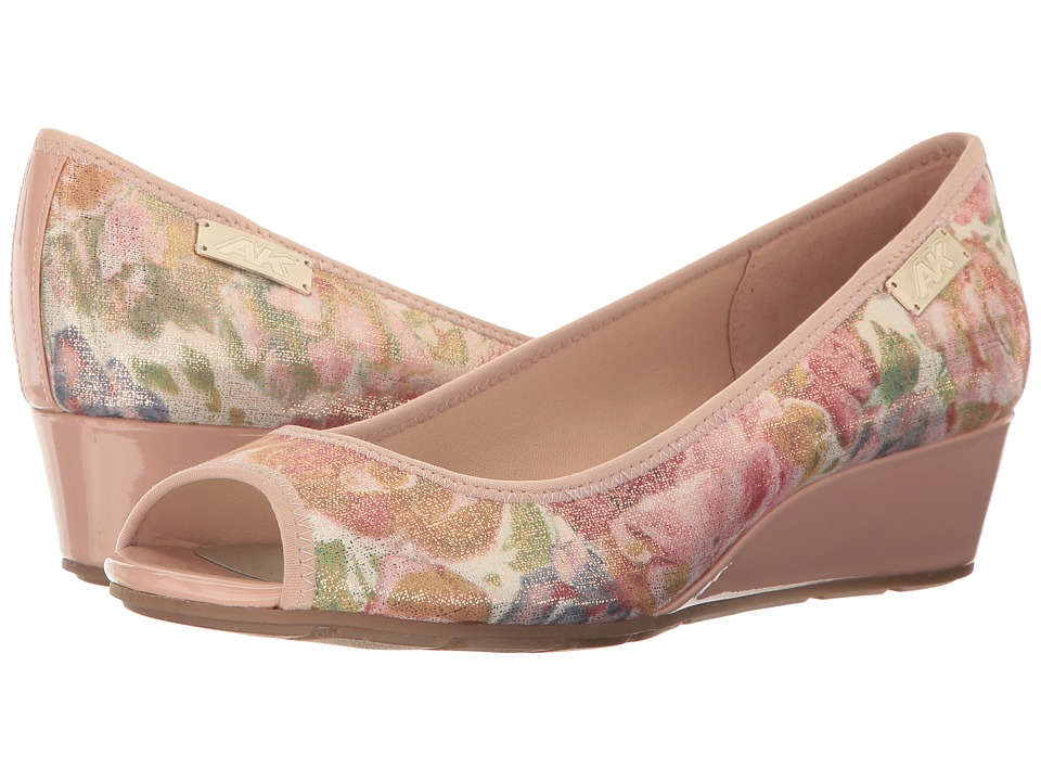 Anne Klein Camrynne (Light Pink Floral Fabric) Women