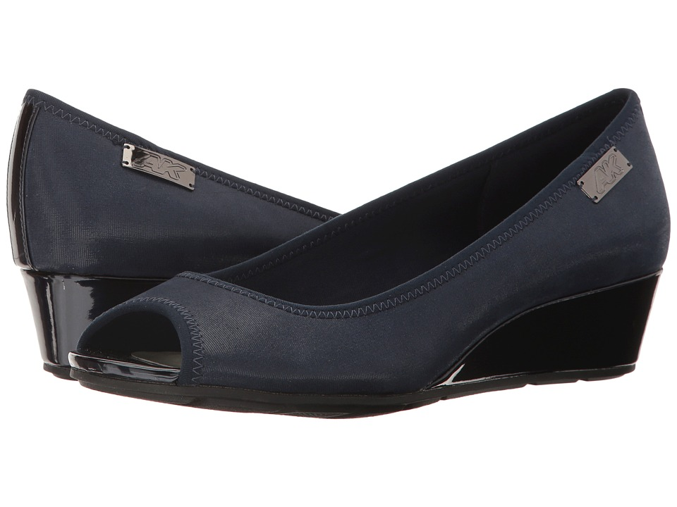 Anne Klein Camrynne (Navy Multi Fabric) Women