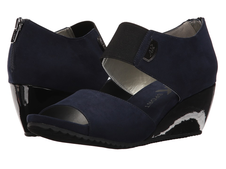 Anne Klein Carisma (Navy Fabric) Women