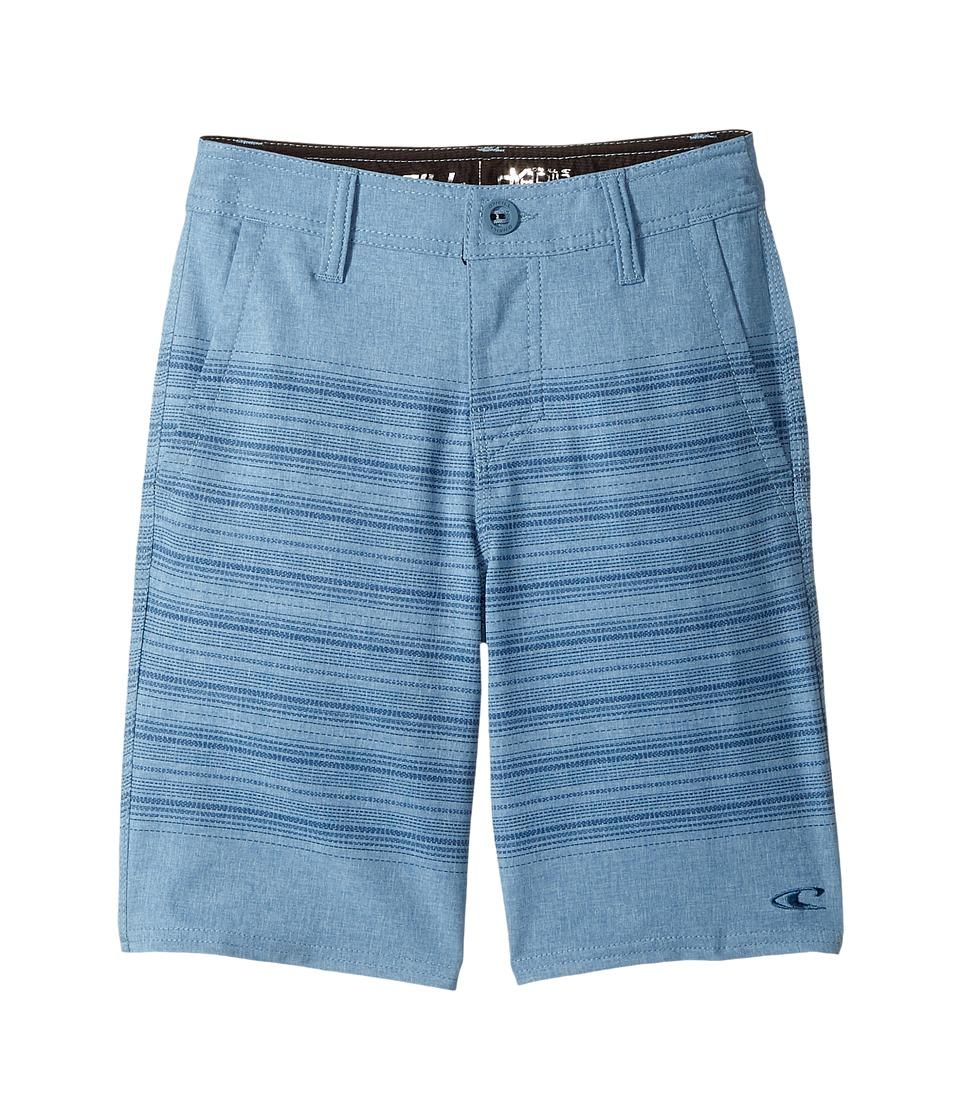 O'Neill Kids - Loaded Schematic Hybrid Shorts (Big Kids) (Dusty Blue) Boy's Shorts