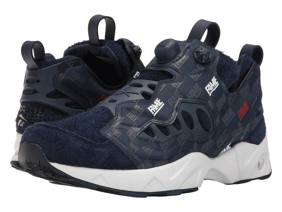 Reebok Instapump Fury Road Hof (Collegiate Royal/Collegiate Navy) Men