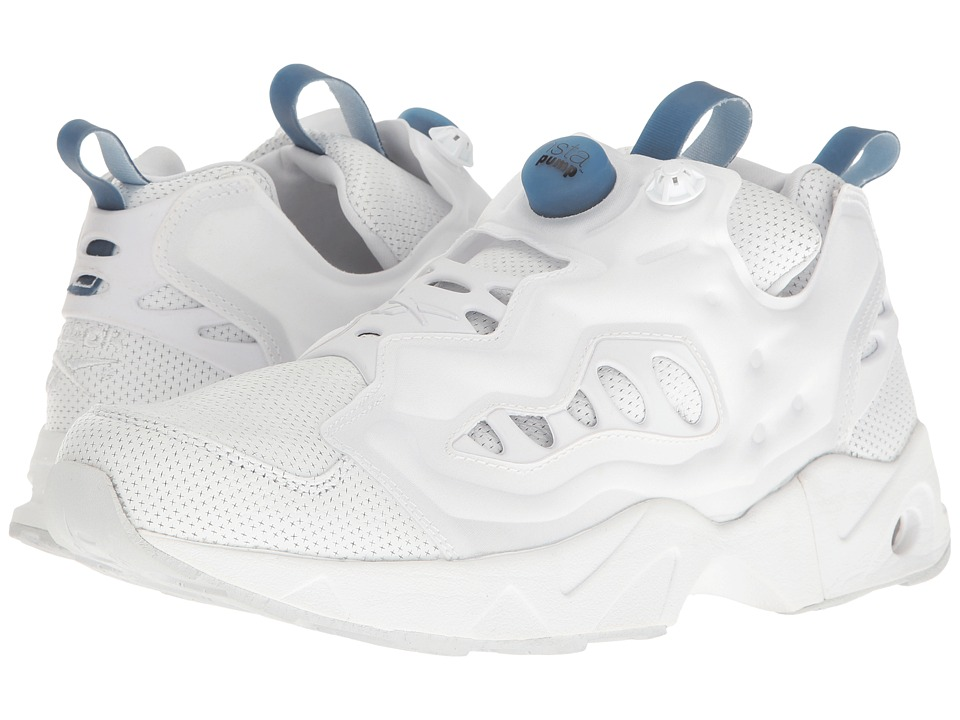 Reebok - Instapump Fury Road PL (White/Black/Ice) Men's Shoes