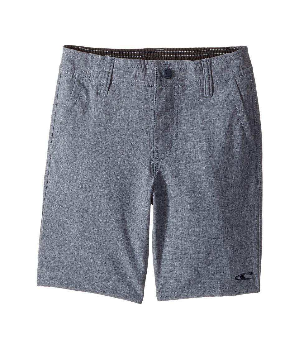 O'Neill Kids - Loaded Heather Hybrid Shorts (Little Kids) (Navy Heather) Boy's Shorts