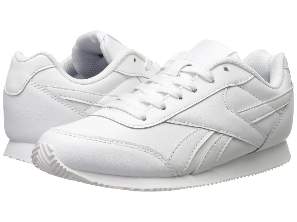 Reebok Kids - Royal CLJogger 2 (Little Kid/Big Kid) (White) Boy's Shoes