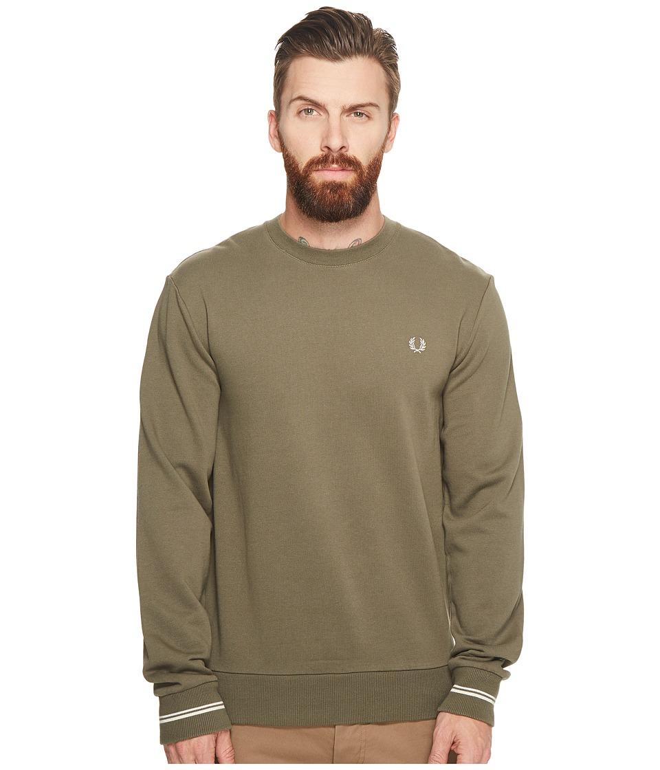 Fred Perry Crew Neck Sweater (Iris Leaf) Men