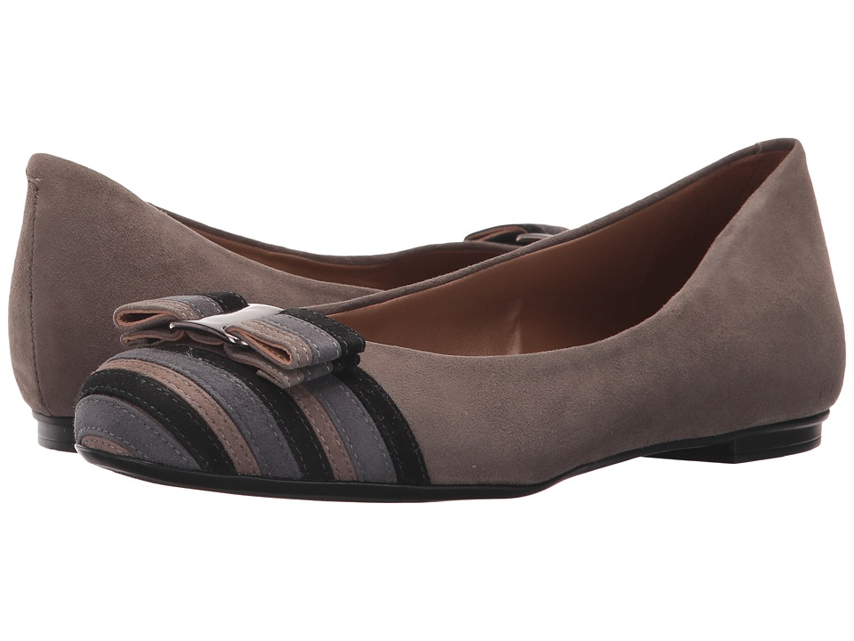 French Sole - Yacht Flat (Grey Multi) Women's Flat Shoes