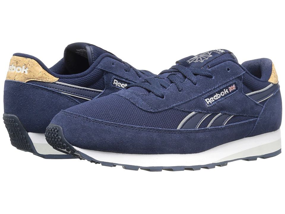 Reebok - Cl Renaissance St (Collegiate Navy/Skull Grey/White) Men's Shoes