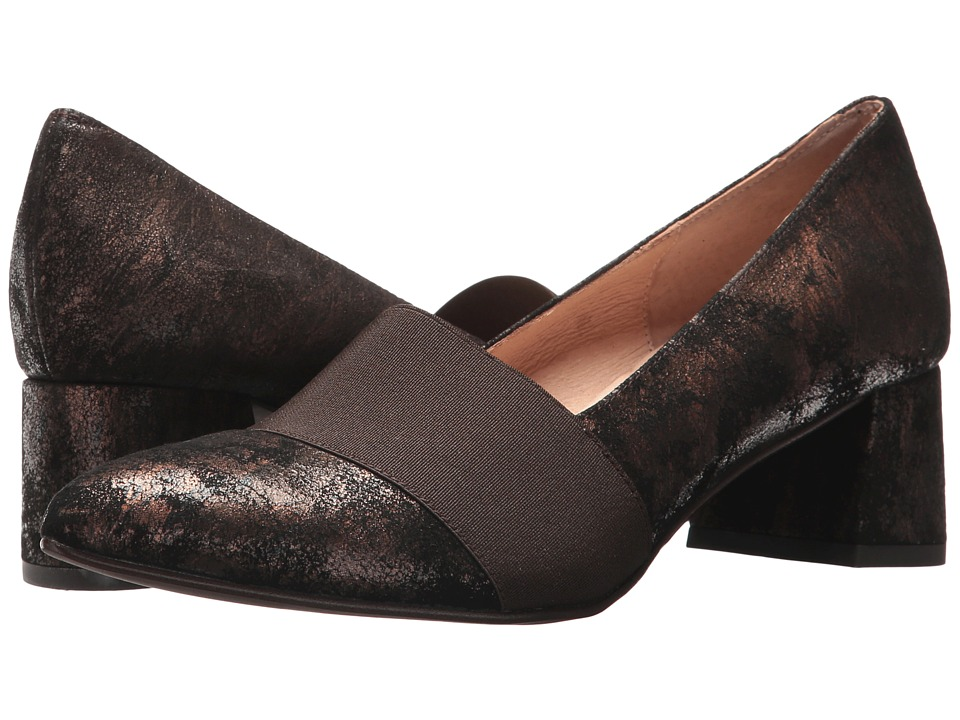 French Sole Zed (Bronze Distressed Metallic) Women