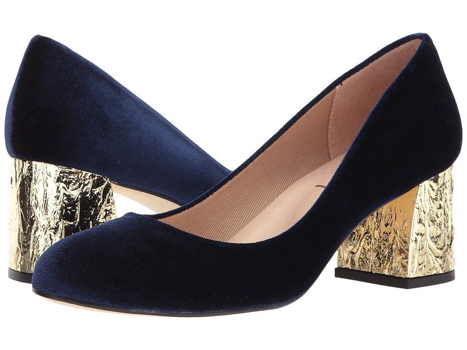 French Sole Trance-X (Blue Velvet) High Heels