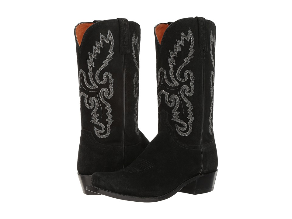 Lucchese KD1507.73 (Black) Men's Boots